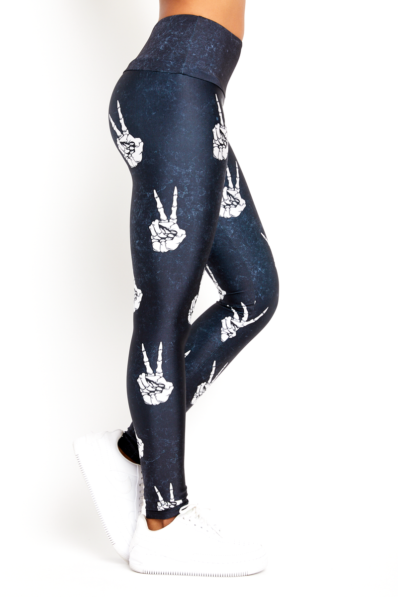 Peace Bones Legging