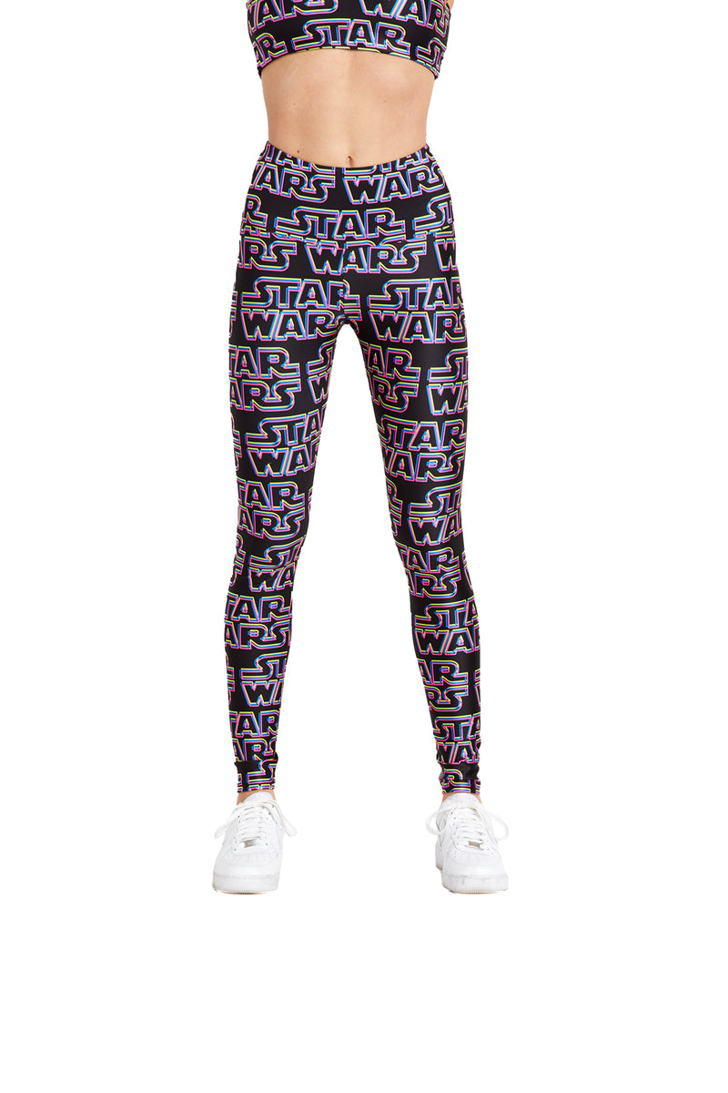 Neon Star Wars Legging