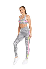 White Spot Stripes Legging