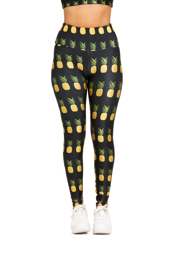 Golden Pineapples Legging