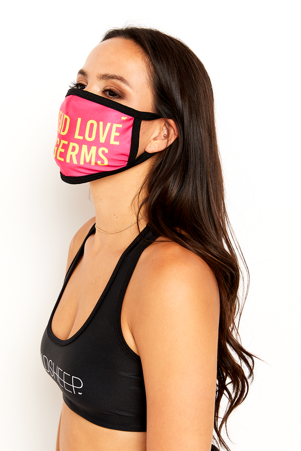 GS Face Mask - Spread Love Not Germs