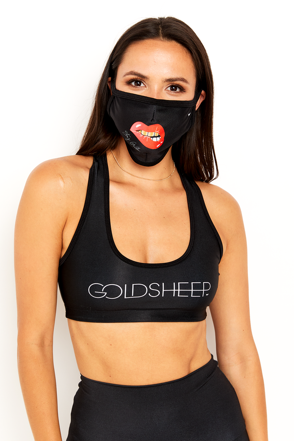 GS Face Mask - Gold Teeth
