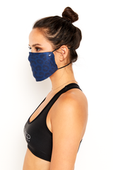 GS Face Mask - Blue Cheetah