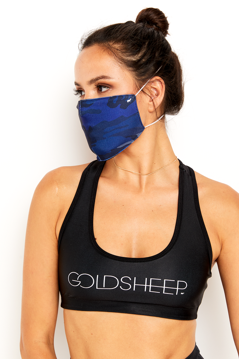 GS Face Mask - Blue Camo