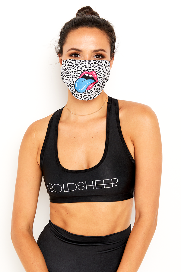 GS Face Mask - Rainbow Mouth