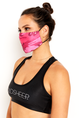 GS Face Mask - Pink Camo