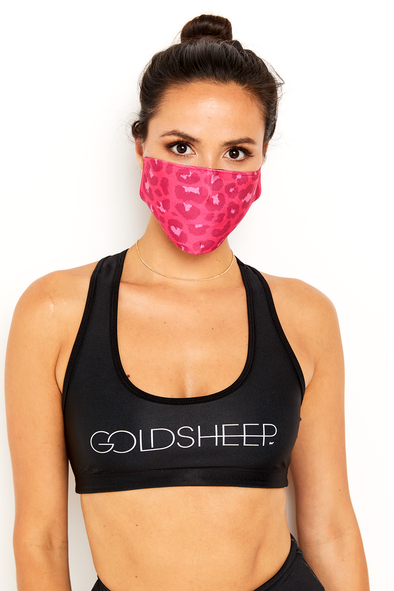 GS Face Mask - Pink Cheetah