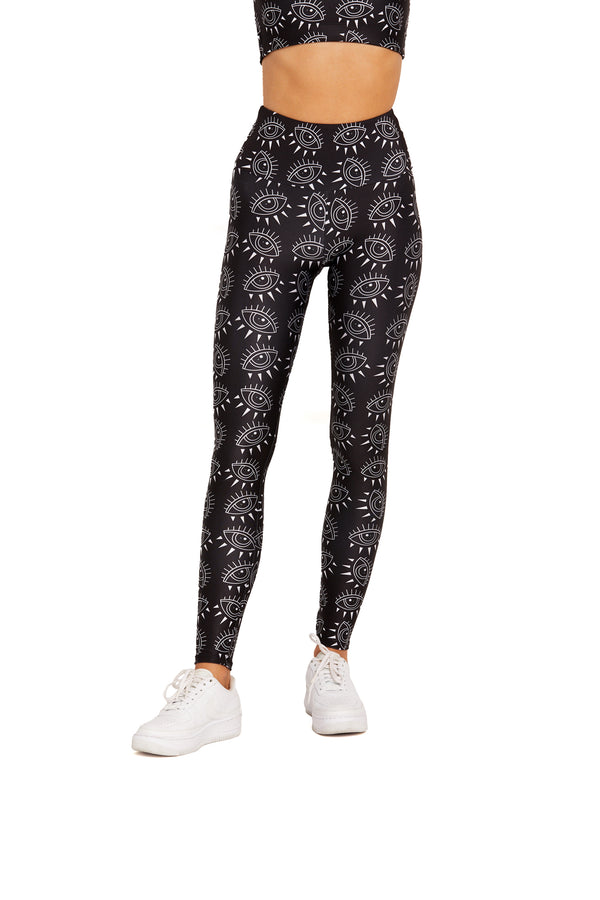 Night Sky Eye Legging