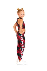 Mando Seasonal Plaid Kids Legging