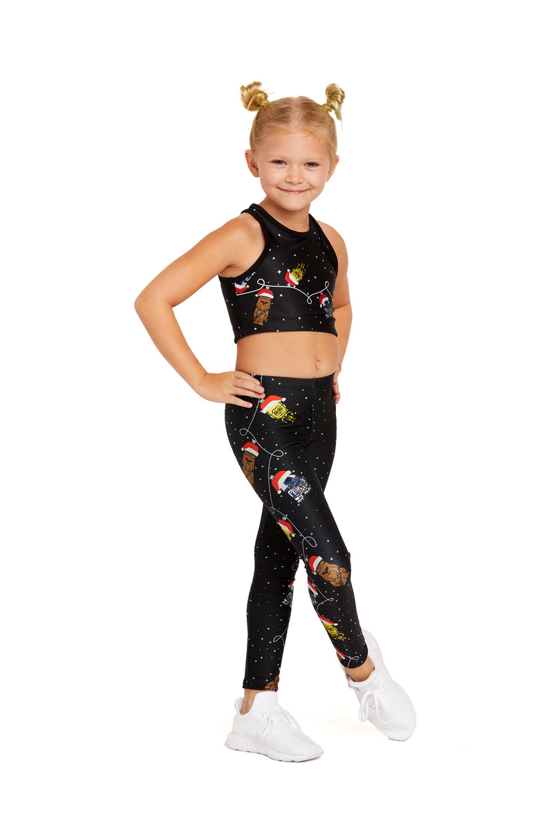 Good Side Ornament Kids Legging