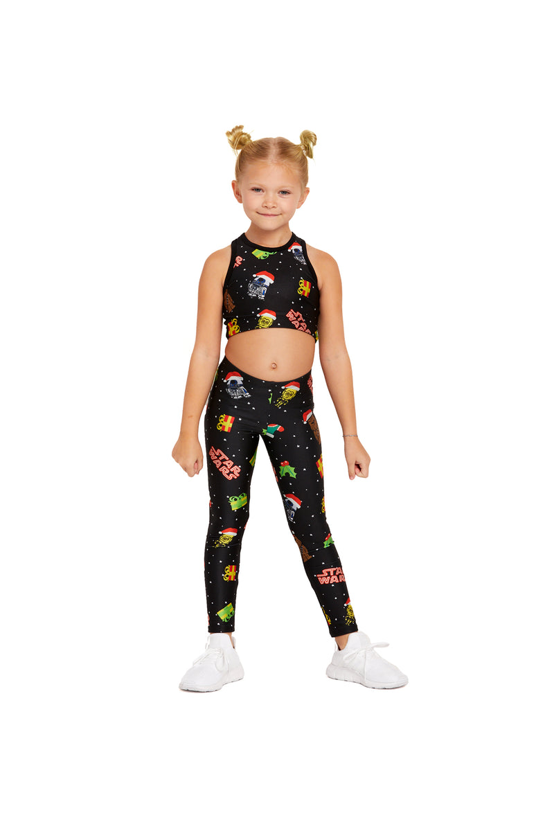 Star Wars Holiday Patches Crop Top Kids