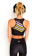 Cross Country Chevron Crop Top