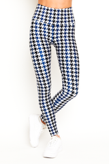 Cross Country Houndstooth Legging
