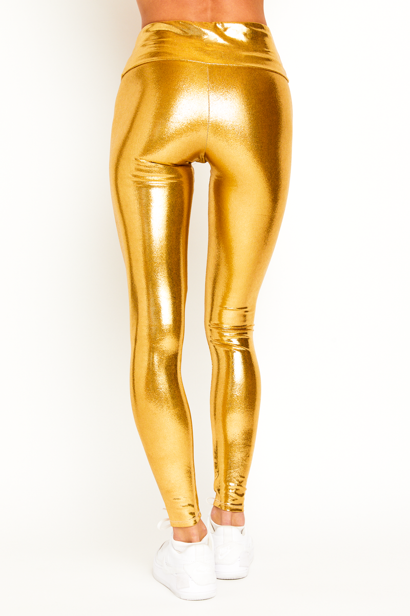 Festive Gold Legging
