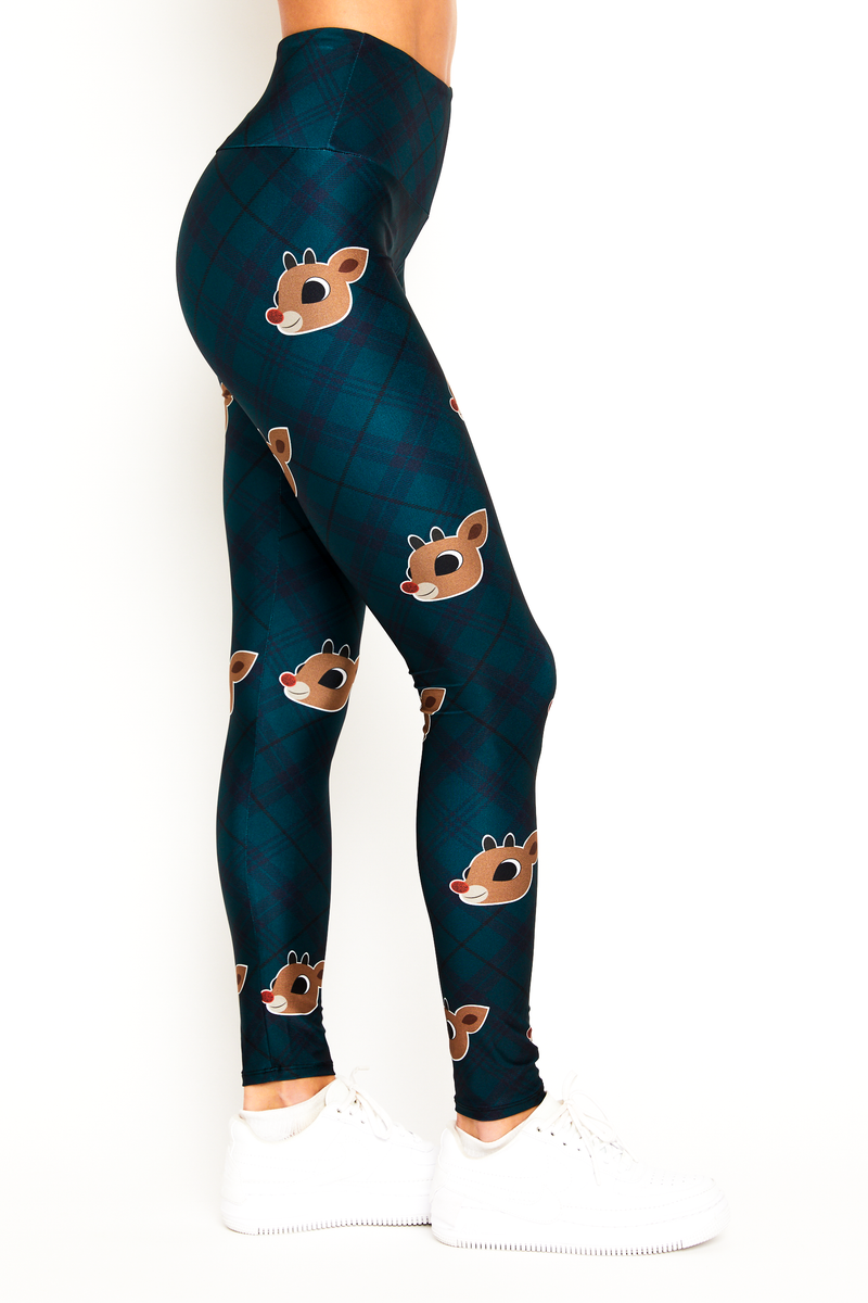 Red Nose Reindeer Legging