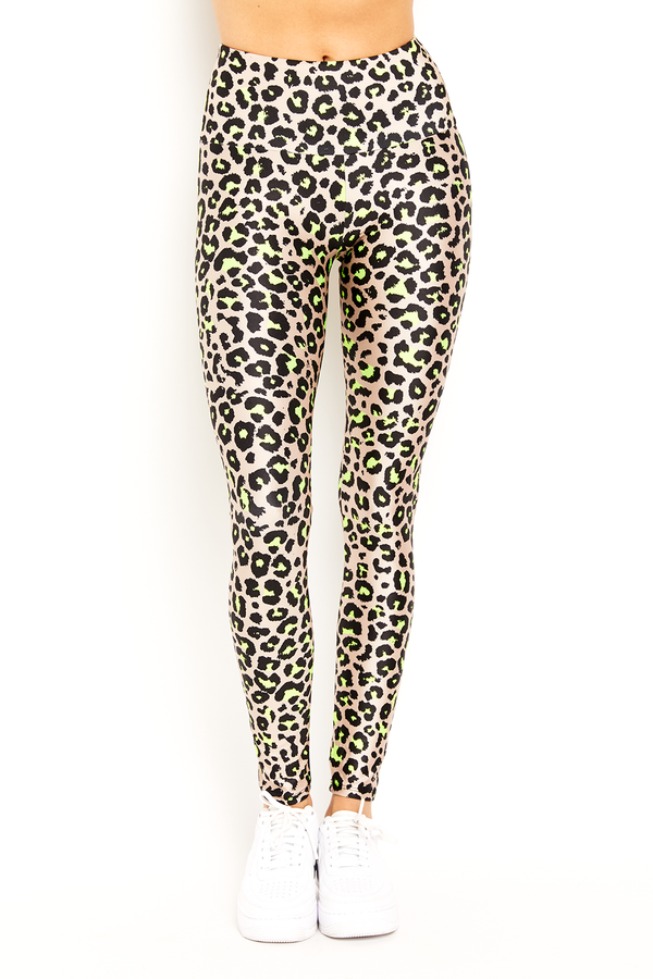 Neon Nude Cheetah Legging