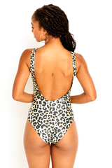 Neon Nude Cheetah One Piece