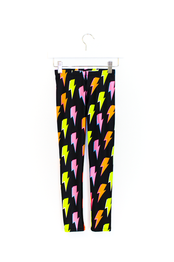 Lightning Bolt Kids Legging