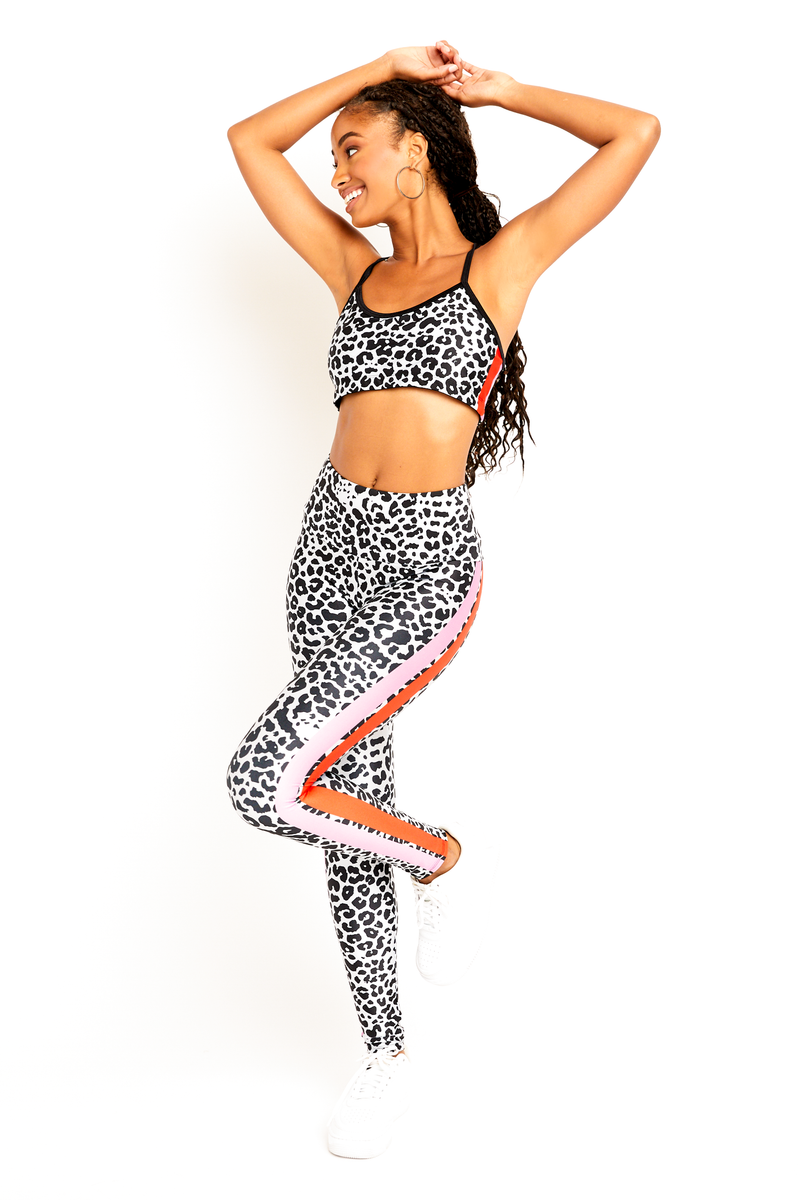 Move Like Morgan Cheetah Stripe Bralette