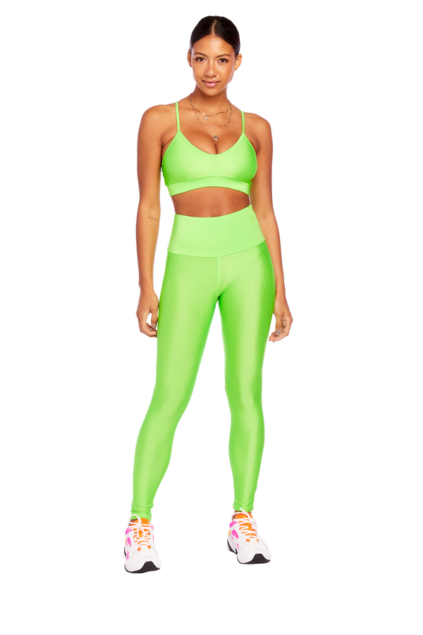 Basic Neon Green Legging