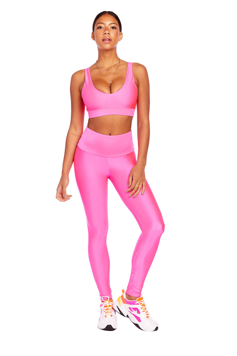 Basic Neon Pink Legging