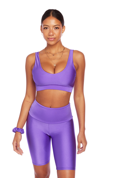 Basic Neon Purple U-Bra