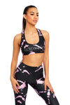 Paint It Sports Bra - Pink
