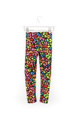 Rainbow Cheetah Kids  Legging