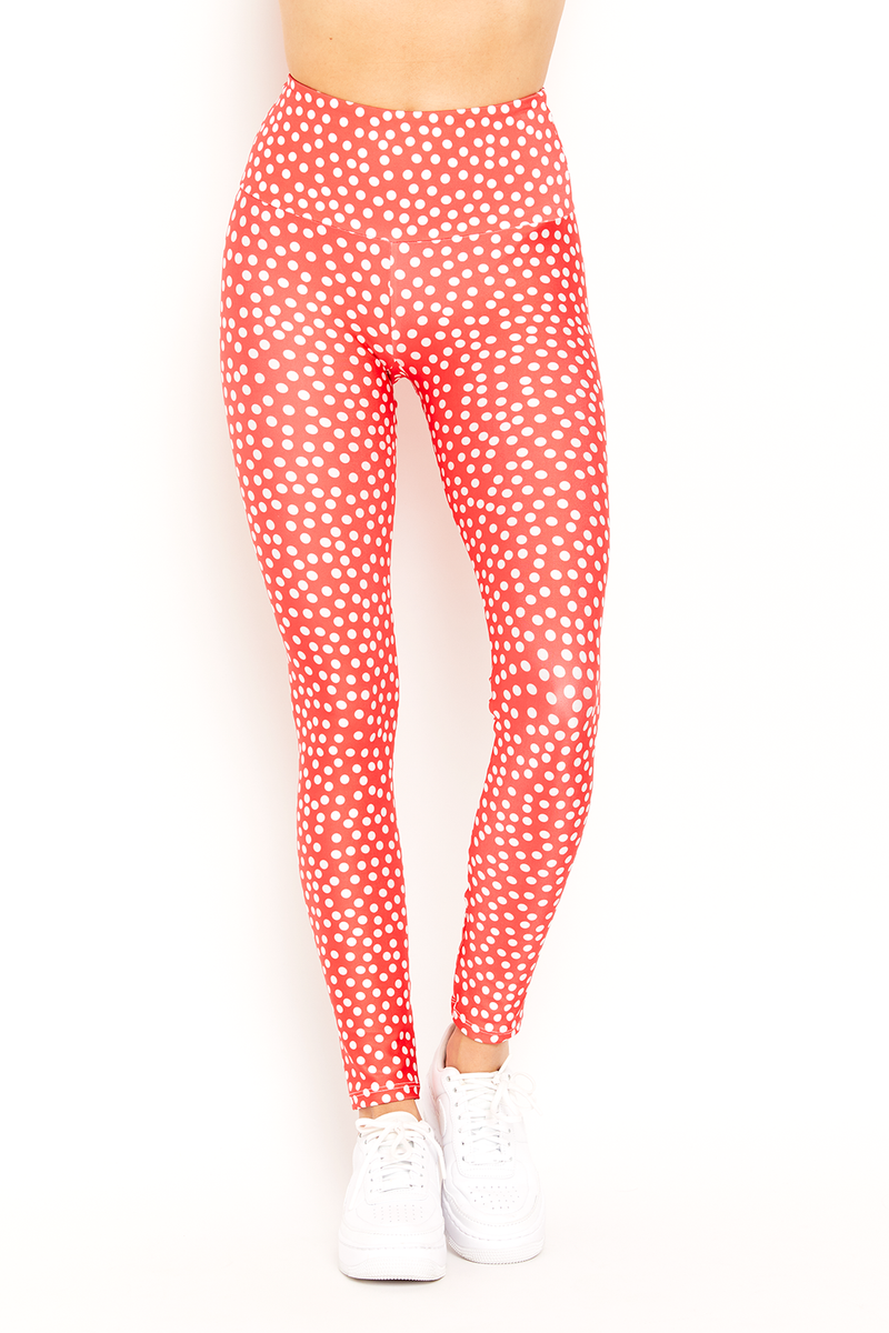 Red Polka Dot Legging