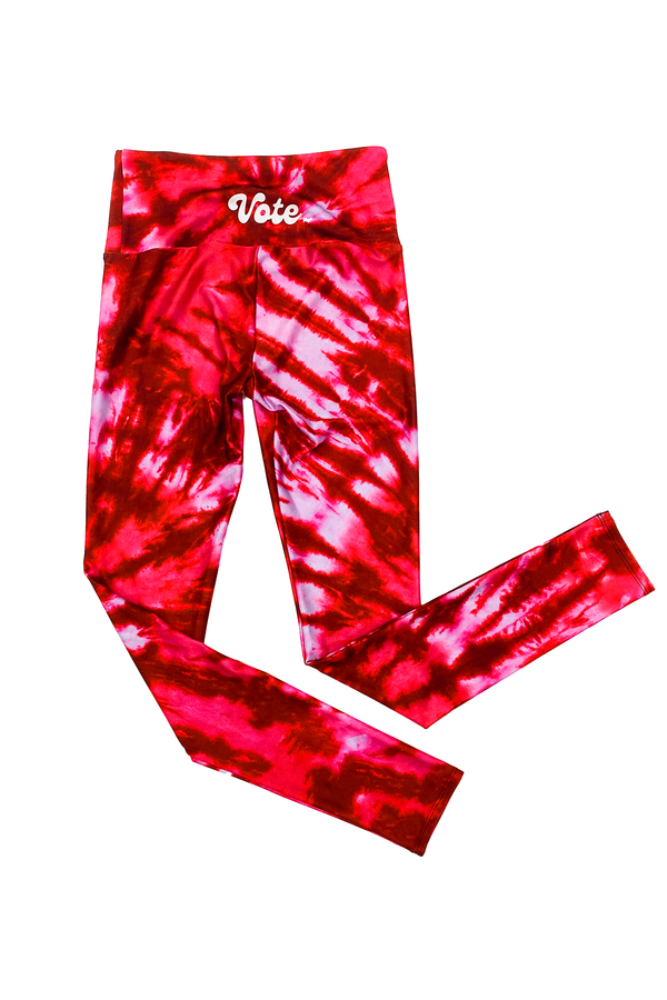 Red VOTE Tie Dye
