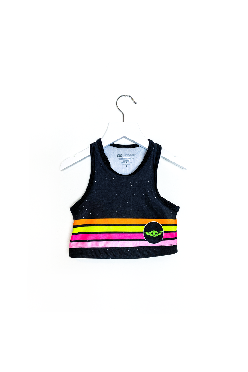 Retro Child Crop Top Kids