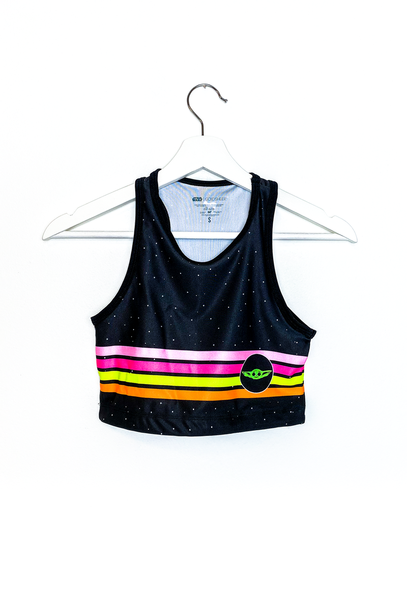 Retro Child Women Crop Top