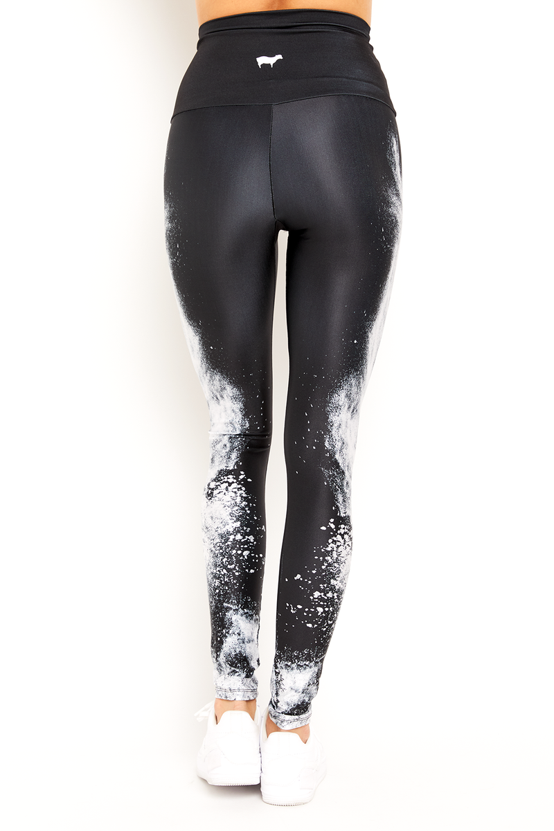 sbe Black & White Legging