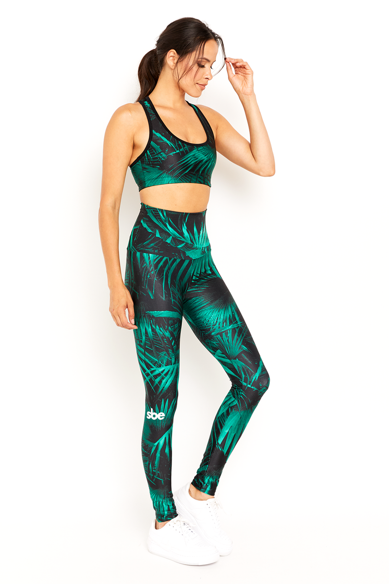 sbe Green Palm Legging