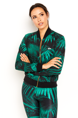 sbe Green Palm Track Jacket