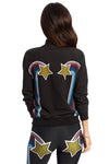 Shooting Star Rainbow Bomber Jacket