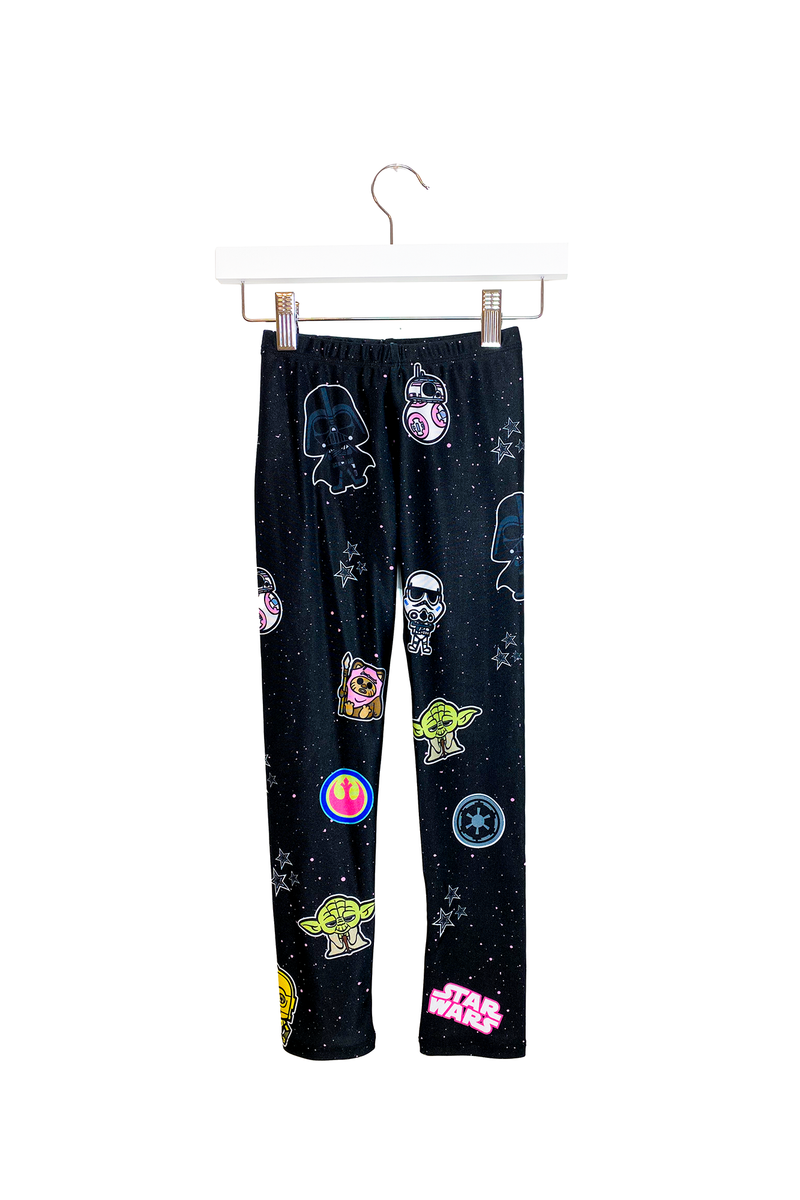 Star Wars Pink Patches Kids Legging
