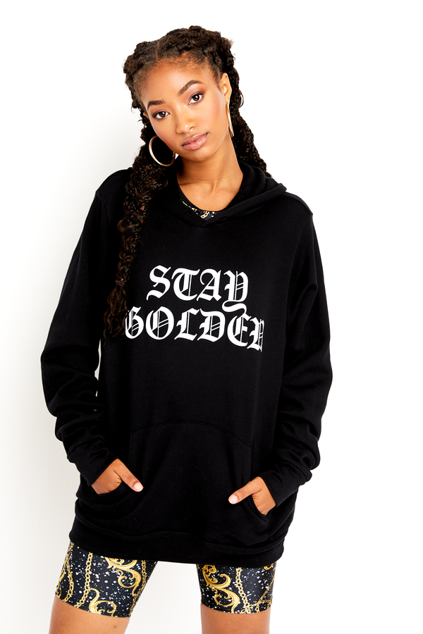 Stay Golden Oversized Hoodie