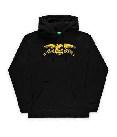 Sweatshirt Capuche ANTI HERO Youth Basic Eagle Black - Noir