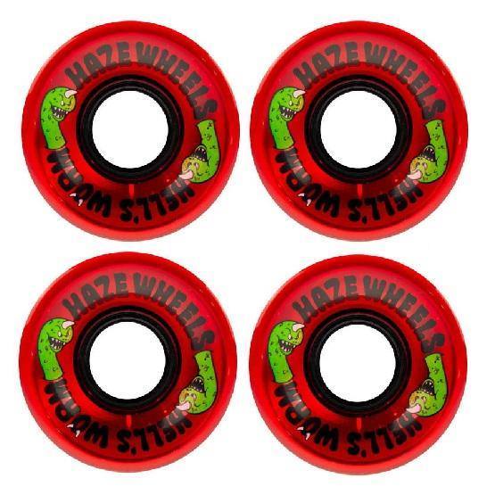 Roues HAZE SOFT Hell's Worm 60mm 78A