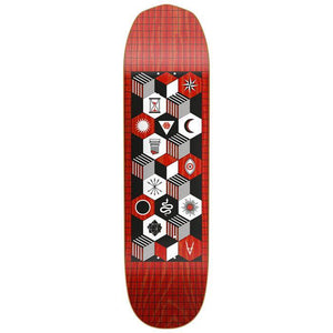 Plateau ANTIZ Team - Mystics Series - Red - Rouge  8.5 - SUBIACO SKATESHOP