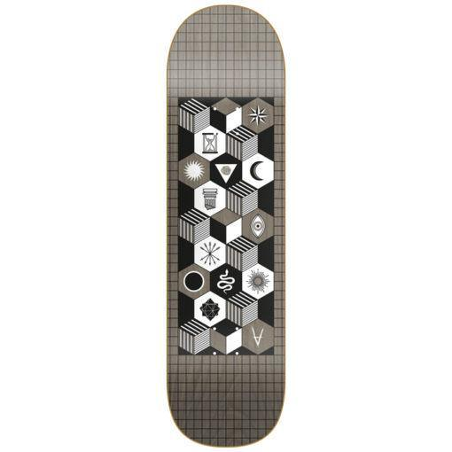 Plateau ANTIZ Team - Mystics Series - Grey - Gris 8.625 - SUBIACO SKATESHOP