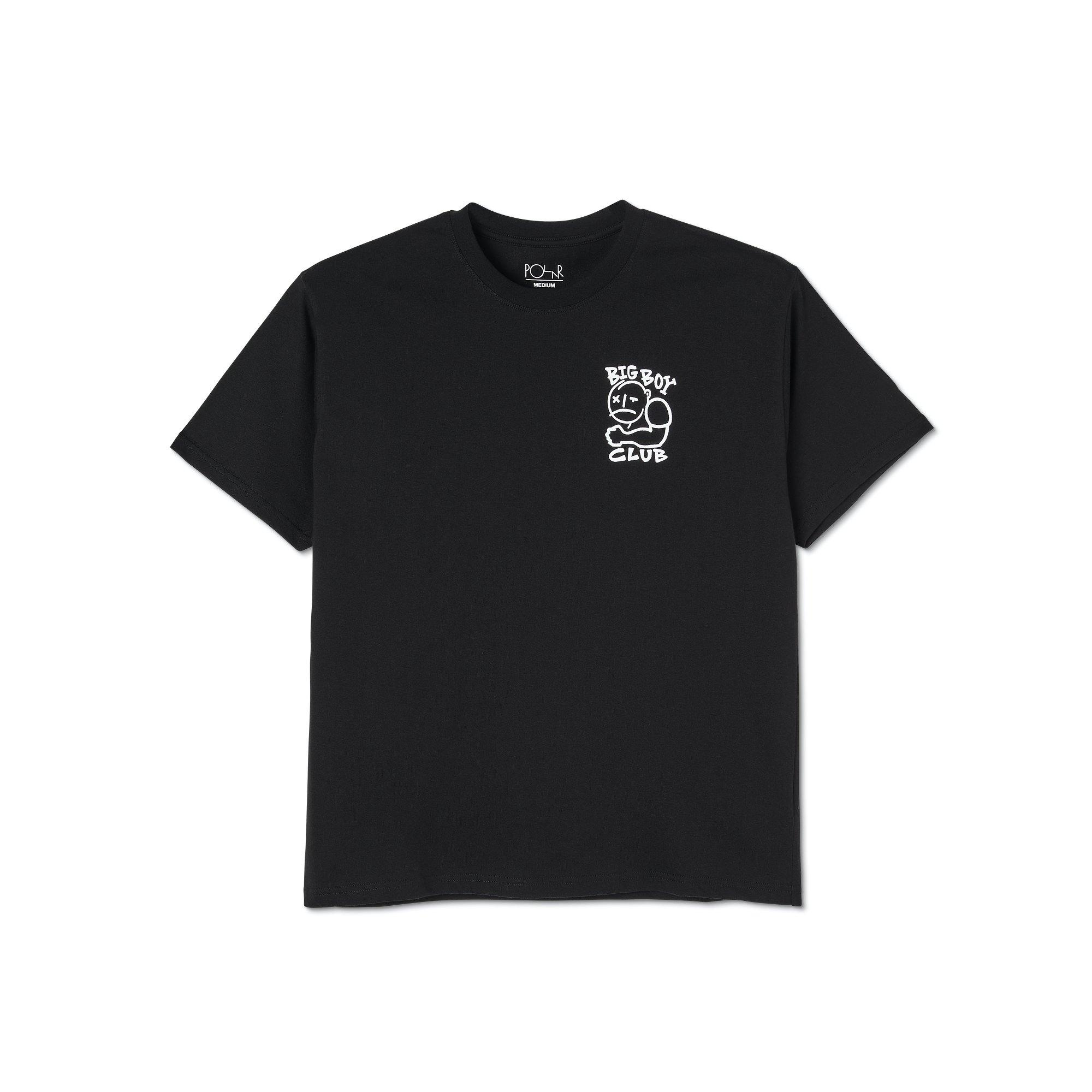 Tee Shirt POLAR Big Boy Club Black - Noir