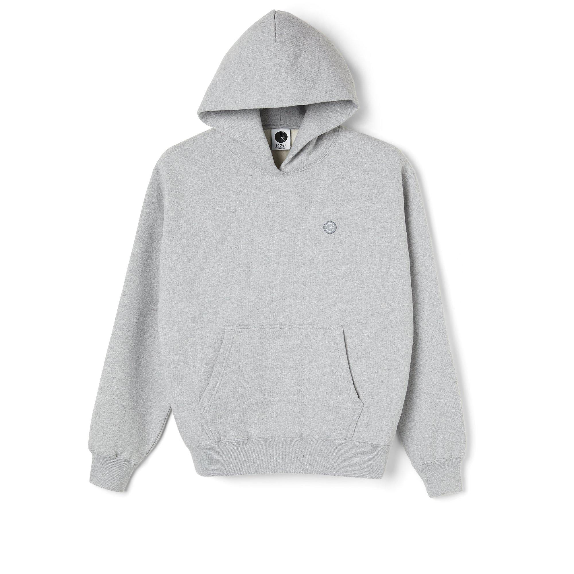 Sweatshirt Capuche POLAR Patch Hoodie Sports Grey - Gris