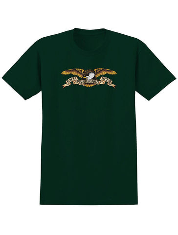 Teeshirt Manches Courtes ANTI HERO Youth Eagle Forrest Green - Vert Forêt