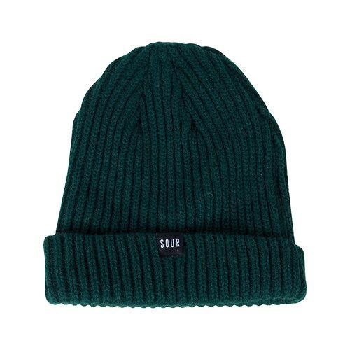 Bonnet SOUR SOLUTION Sweeper Beanie Green - Vert - SUBIACO SKATESHOP