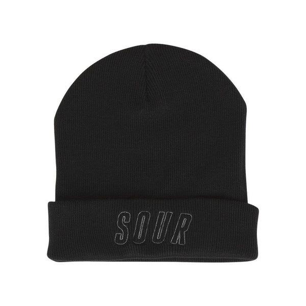 Bonnet SOUR SOLUTION GM Beanie Black - Noir - SUBIACO SKATESHOP