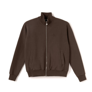 Veste POLAR Torsten Track Jacket Brown - Marron