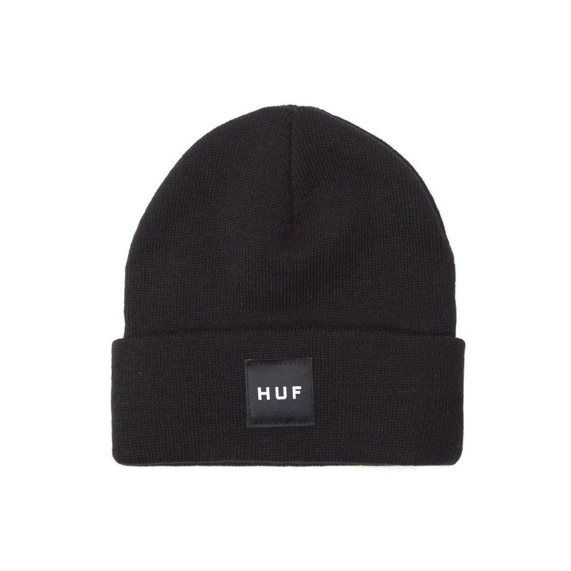 Bonnet HUF Essentials Box Logo Noir