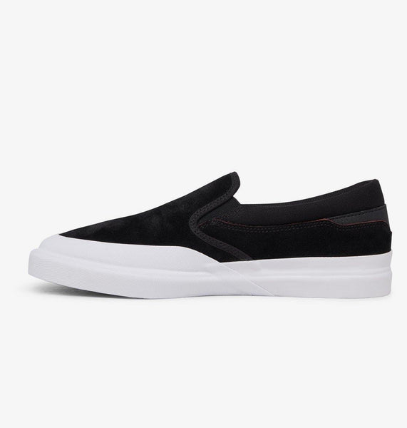 Chaussures DC SHOES Infinite S Slip On Black/White - Noir/Blanc - SUBIACO SKATESHOP